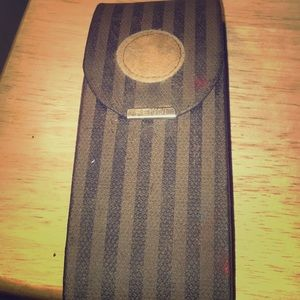 Fendi eye glass case
